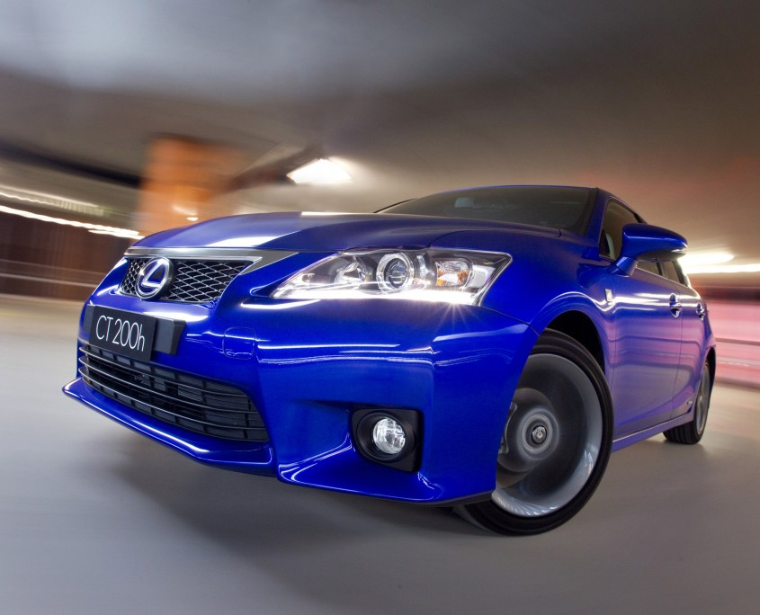 2011 Lexus CT 200h F Sport