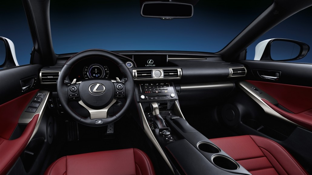 Lexus is 300h toyota guadeloupe for Lexus is350 f sport red interior