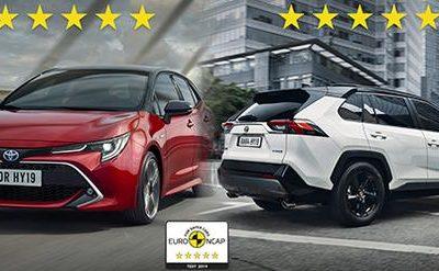 Les Toyota Corolla et RAV4 obtiennent 5 étoiles