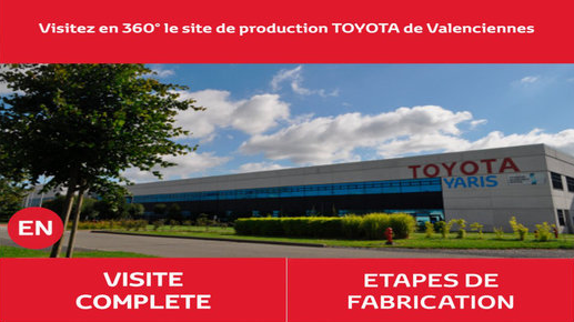 visitez en 360 le site de production toyota de valenciennes toyota guadeloupe. Black Bedroom Furniture Sets. Home Design Ideas
