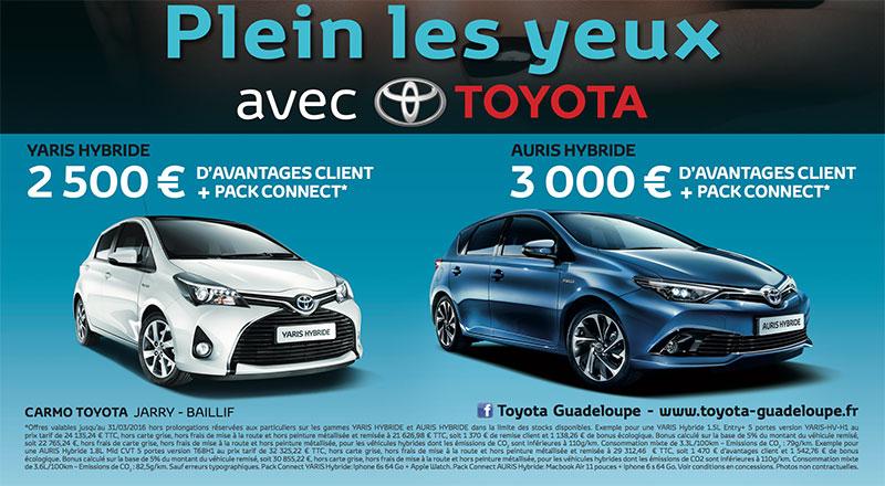 Plein Les Yeux Avec Toyota Toyota Guadeloupe