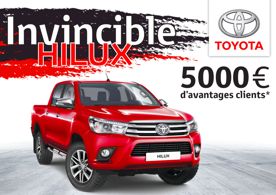 invincible hilux toyota guadeloupe. Black Bedroom Furniture Sets. Home Design Ideas