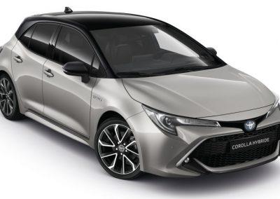 COROLLA Hybride – GRIS ARGENT METAL – 28690€*