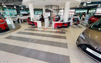 Visitez l'intérieur de nos espaces de vente