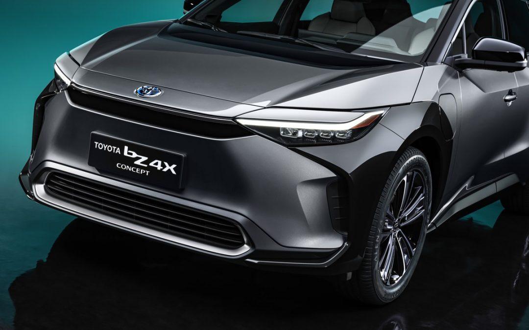 Toyota bZ4X Concept : le nouveau SUV électrique en détails