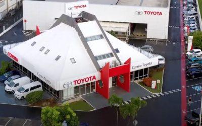 Toyota Guadeloupe reste ouvert pendant le confinement.